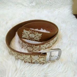 Lucky Brand Men's Decorative Belt
